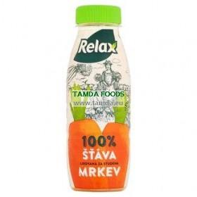 fresh mrkev 100% lisovaná šťáva