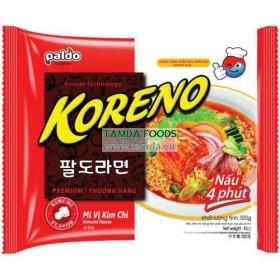 instantní polévka s příchutí kimchi